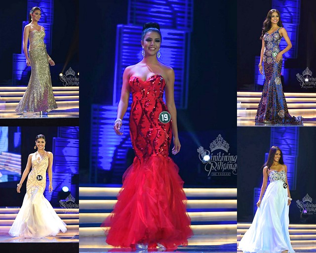 Binibining Pilipinas 2015 Evening Gown