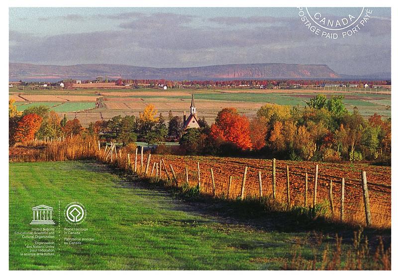 Canada - UNESCO - The Landscape of Grane Pre