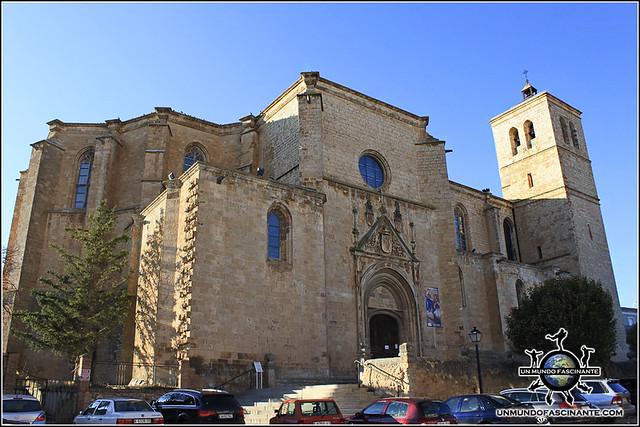Colegiata de Berlanga, Iglesia de Santa María del Mercado,  Berlanga de Duero (Soria, España)