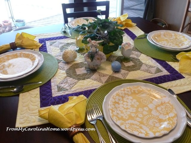 Easter tablescape - 5
