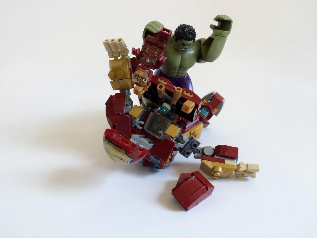 Lego Custom Age Of Ultron Hulk Buster