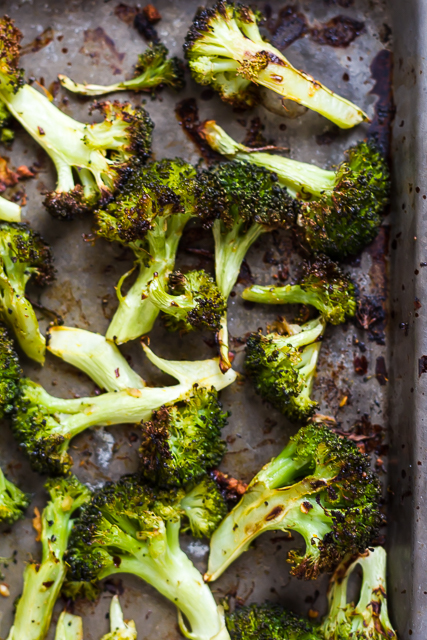 Chili and Citrus-Roasted Broccoli