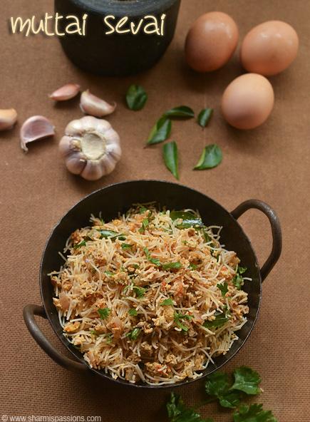 Egg Sevai Recipe