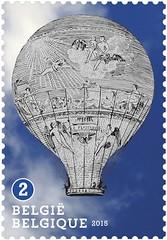 16 Luchtballonnen zegel C