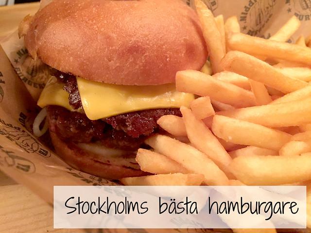 Tukholman paras hampurilainen Flippin Burgers