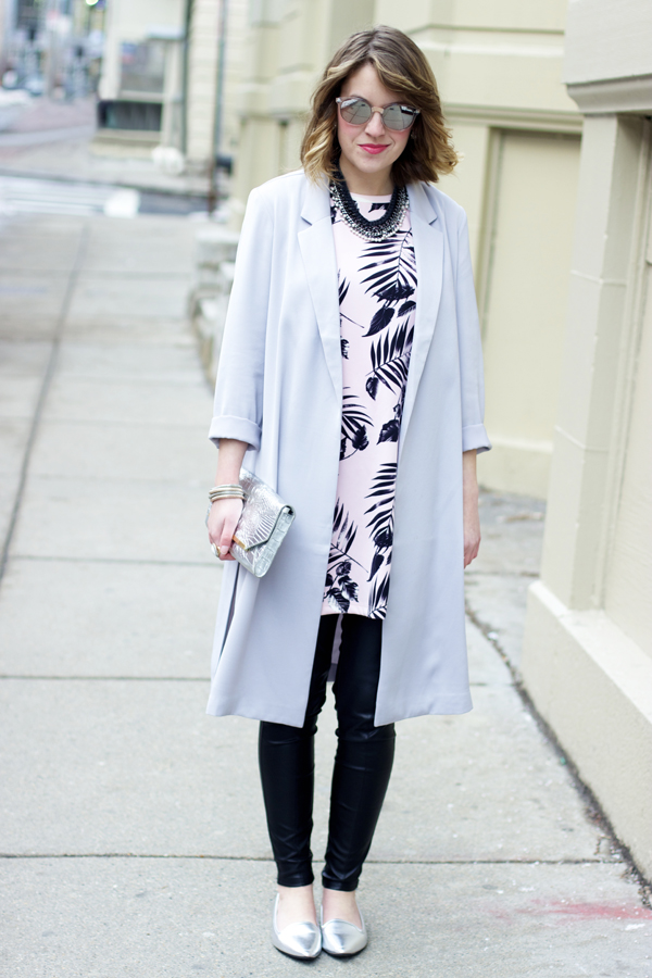 Style Tab, Boston fashion blogger, long blazer, spring outfit