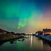 Visited by Aurora by Richard Larssen