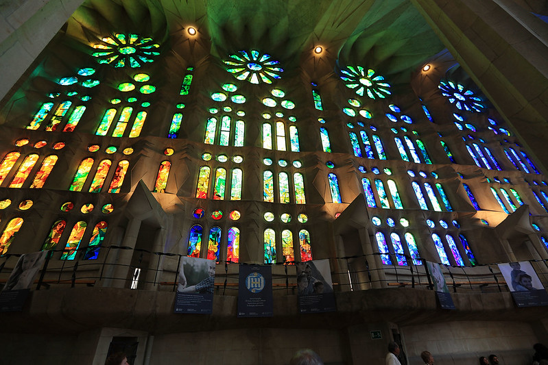 Sagrada Familia glass