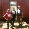 Jodi Barnes, Bobby Braly & I representing @preservearkansas at @historiccanehill