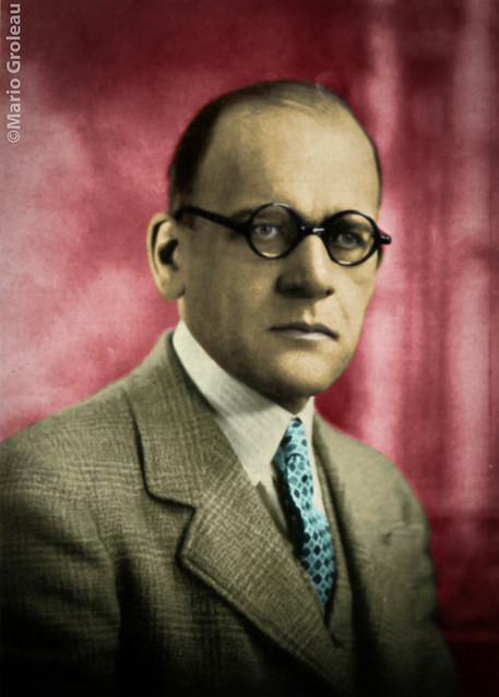 Maurice Gabias,Controleur des finances, Ville de Trois-Rivières
