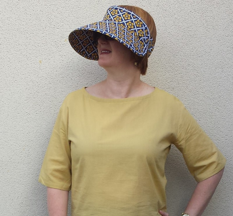test sew - Pattern Fantastique Lucent Visor