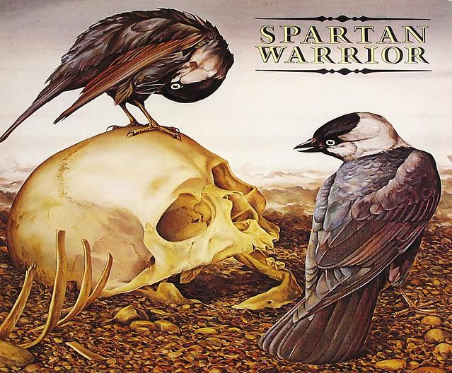 "SPARTAN WARRIOR S/T SELF-TITLED RARE NWOBHM 12"" LP VINYL"