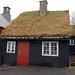 Turf roof - Tórshavn - Faroe Islands by Alan Denney