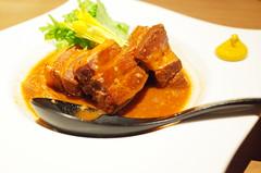 pork ribs kakuni 江戸甘味噌の豚角煮