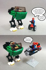 76004 - Nick's Jet Walker (alt model) - comic