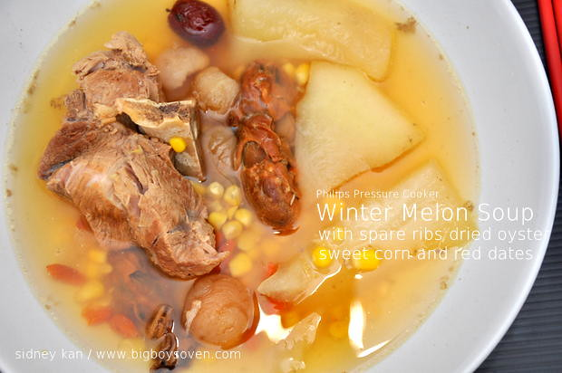 Philips Pressure Cooker Winter Melon Soup 1