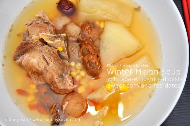 Philips Pressure Cooker Winter Melon Soup 1