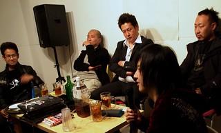 2014.3.20 |高円寺|男組トークライブ「反差別! 超圧力! 男組祭り! ポロリもあるよオラオラオラ!」|Anti-Racism Group MENFOLK on stage in Koenji, Tokyo, 2015/3/20.