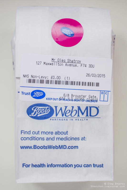 Boots prescription