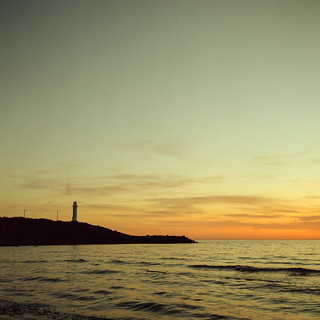 Rolleicord V + Kodak Portra160NC - Lighthouse 1