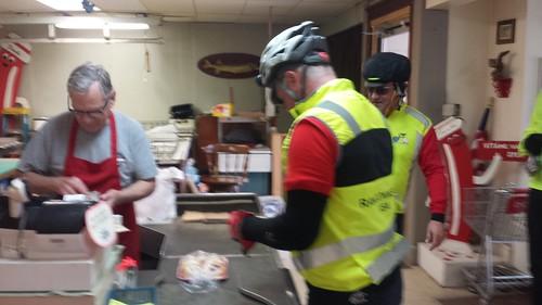 Buying kolaches in Wilber