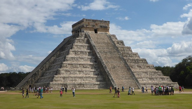 El Castillo Pyramid  - Chichen Itza - Mexico
