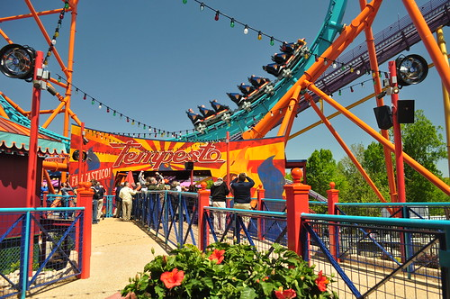 Tempesto Challenges Daredevils at Busch Gardens Williamsburg