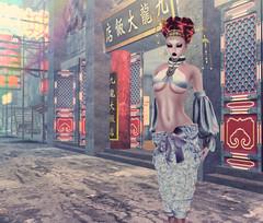 Miss COC Mao Geping  Photo Challenge # 2 Zionp