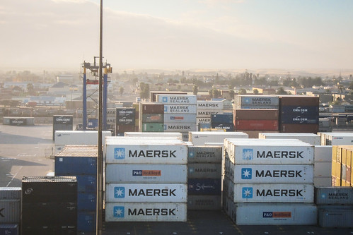 Container terminal, port of Walvis Bay