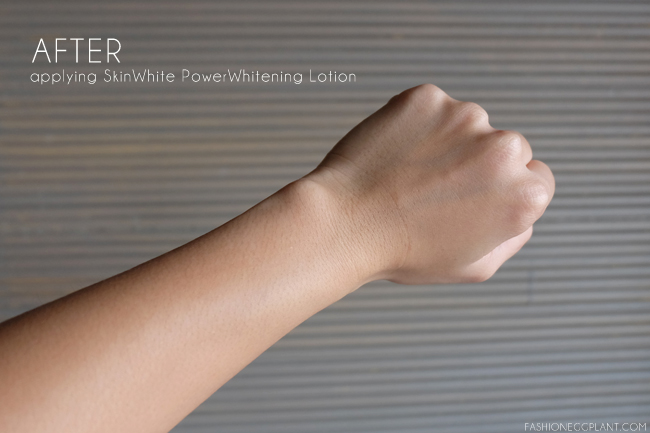 skinwhite power whitening lotion review