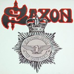 "SAXON STRONG ARM OF THE LAW NWOBHM 12"" CARRERE FRANCE GATEFOLD LP VINYL"