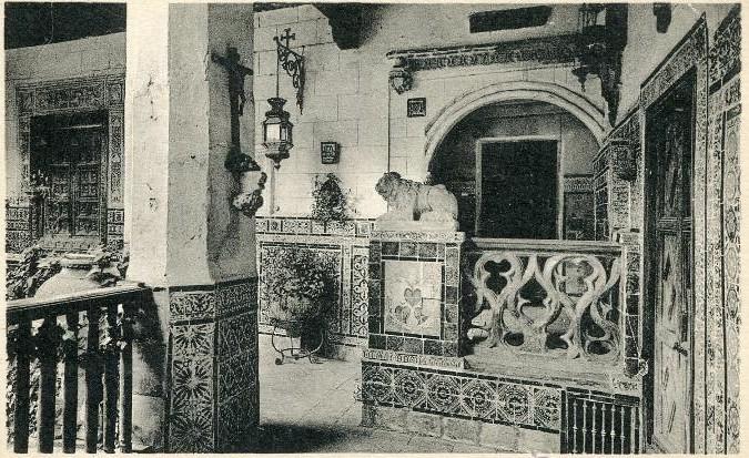 Palacio de los Pantoja o de Benacazón, sede en su día del Museo Anastasio Páramo