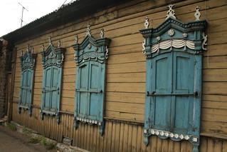 Old Wooden Windowo
