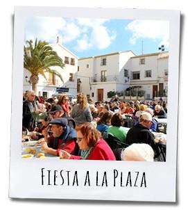 Wanneer de bevolking van Altea iets te vieren heeft gebeurt dat meestal op Plaza de la Iglesia
