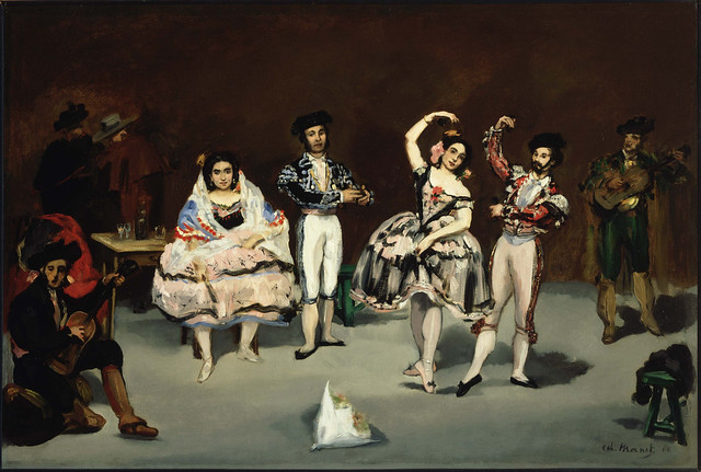 The Spanish Ballet by Édouard Manet, 1862