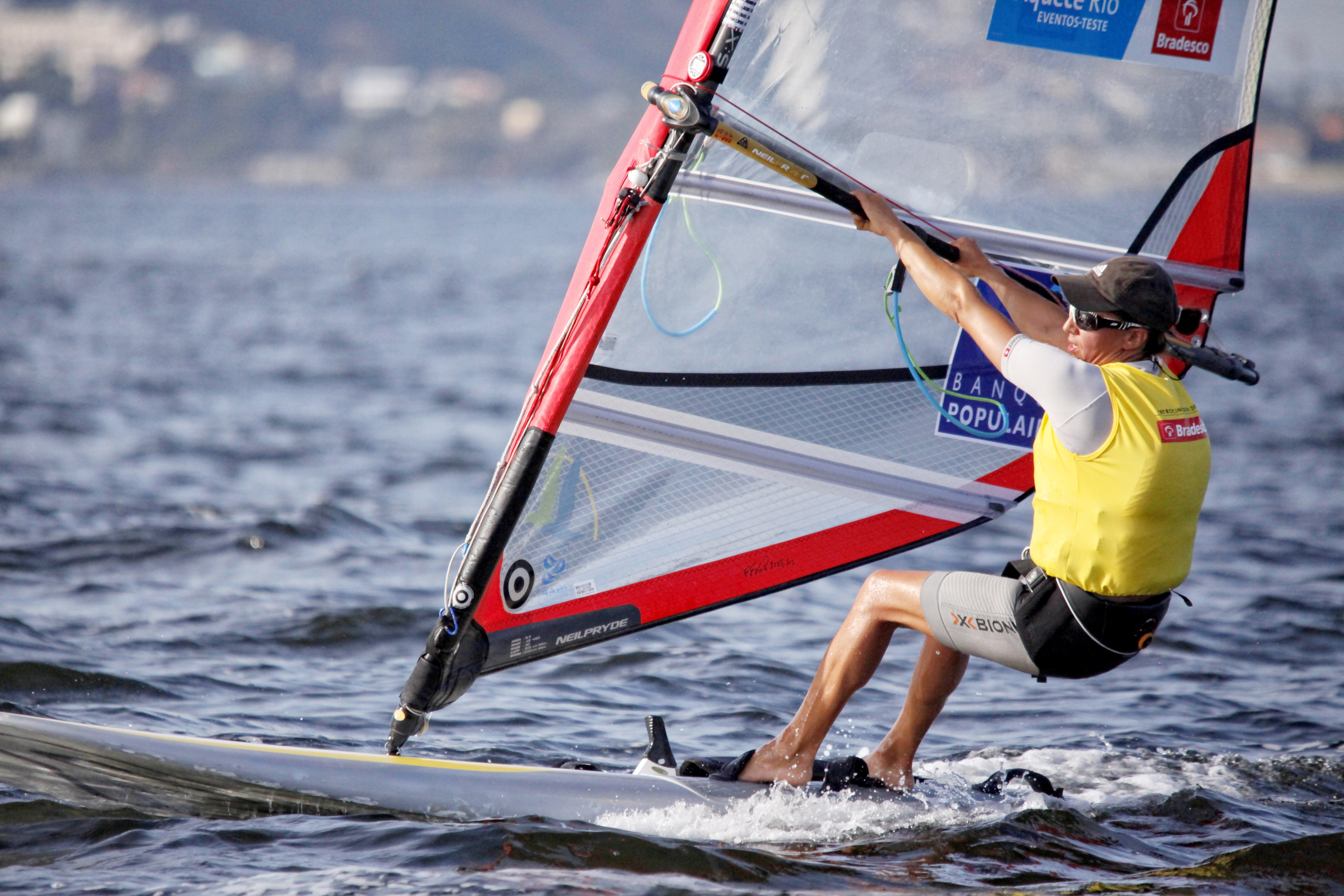 Test-Event Rio 2015 - Charline Picon_Copyright C. Launay-FFVoile