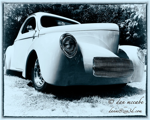 Hot Rod - 1941 Willys Coupe