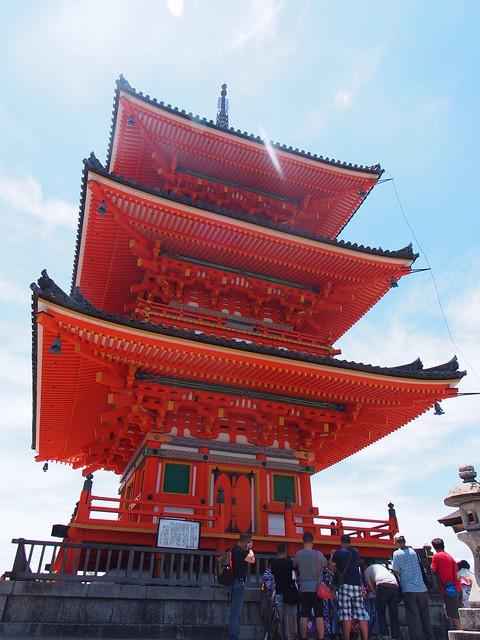 清水寺的三重塔