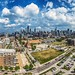 A skyline view from The  Xavier, 625 W Division by YoChicago