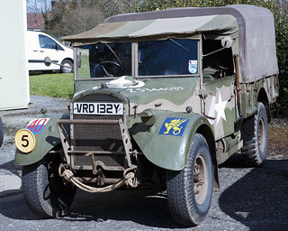 Ford WOT 2H 15 cwt Army Truck VRD 132Y