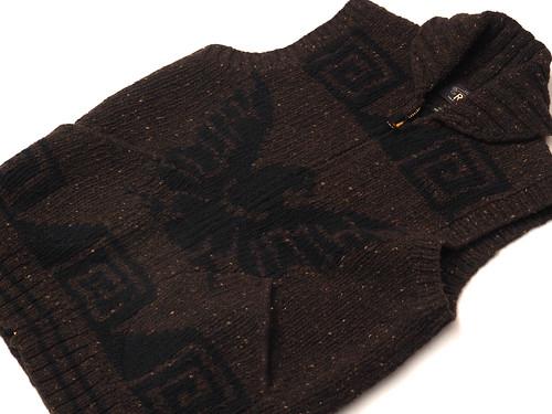 RRL / Wool Shawl-Collar Vest