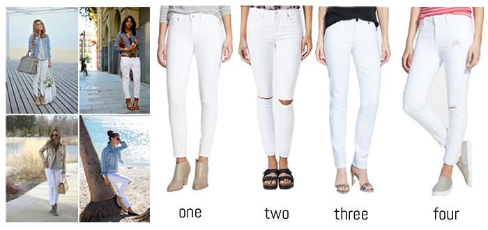 Nordstrom White Jeans