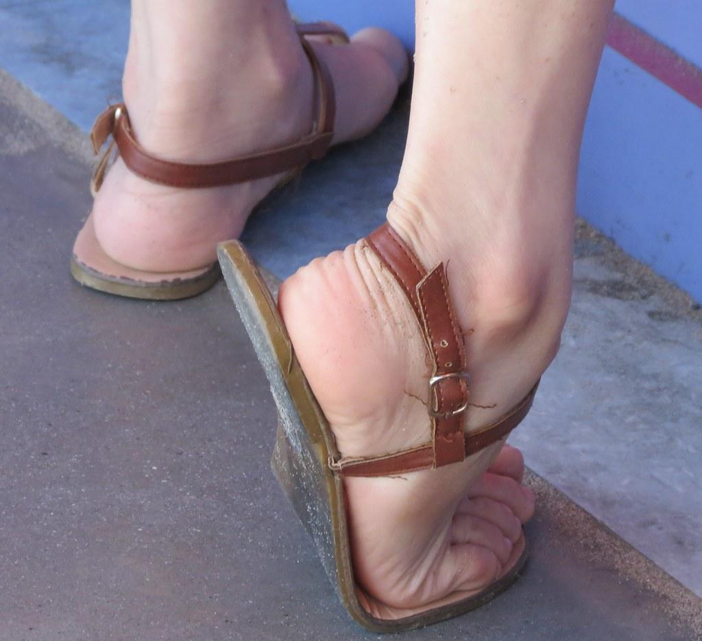 Candid feet, sxxx anti porn babe pic