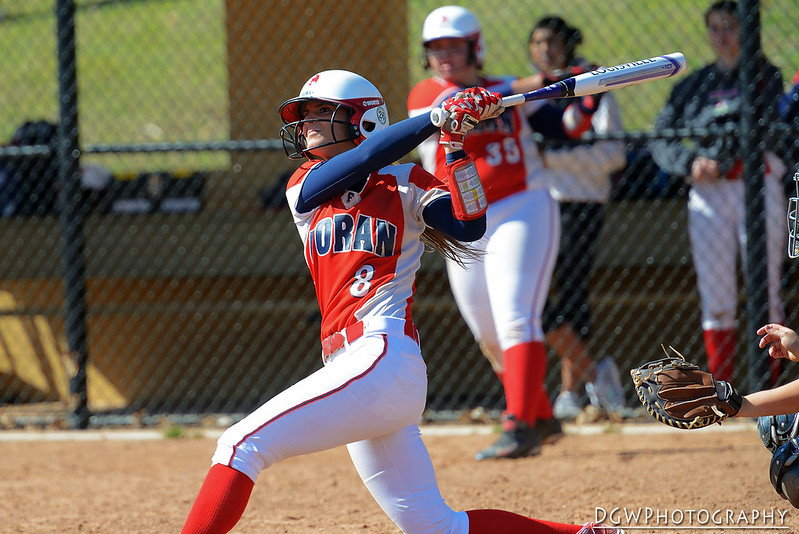 Foran vs. Law - High School Softball