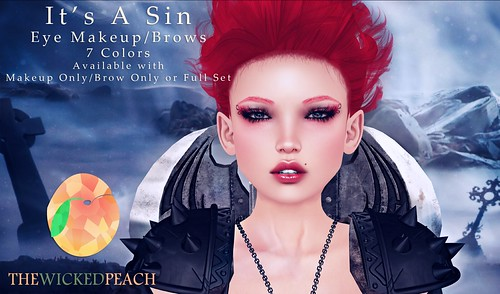 Peach Advert It's A Sin