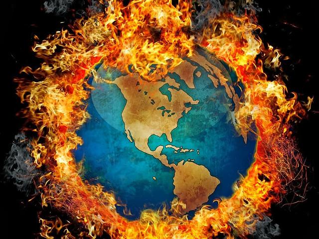 गर्म हो रही पृथ्वी