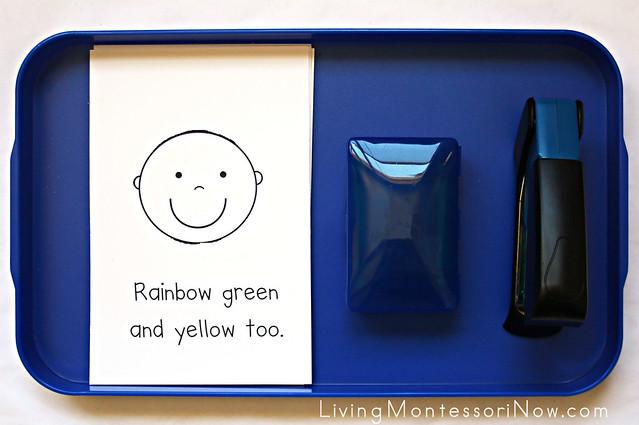 Rainbow Hair Emergent Reader
