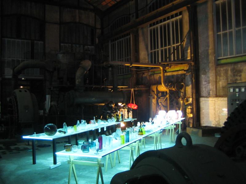 Déambulation nocturne au Musée de la Mine (Saint-Etienne)