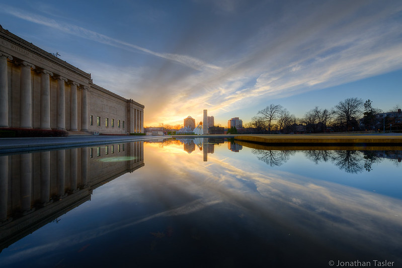 Nelson Atkins Sunset