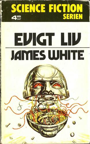 James White, Evigt liv [Second Ending] (1975 - Lindfors Förlag, Science Fiction serien 16, Sweden), unknown cover artist